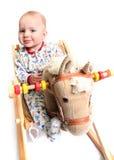cavallo di oscillazione Fotografie Stock Libere da Diritti