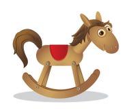 Cavallo di oscillazione Fotografie Stock