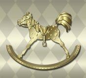 Cavallo di oscillazione dell'annata illustrazione vettoriale