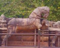 Cavallo di pietra Fotografie Stock