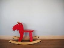 Cavallo a dondolo Fotografia Stock