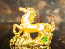Cavallo dorato Fotografie Stock Libere da Diritti