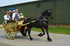 Cavallo e trasporto Fotografie Stock