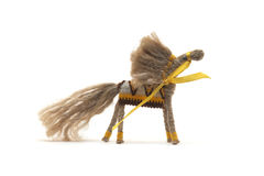 Cavallo fatto a mano da naturale del filo Fotografie Stock Libere da Diritti