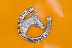 Cavallo fortunato Fotografia Stock