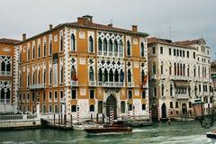 Cavallo Franchetti Palace in Venice Royalty Free Stock Photo