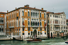 Cavallo Franchetti slott i Venedig Royaltyfri Foto