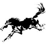 Cavallo giapponese Immagine Stock