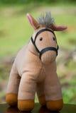 Cavallo molle del giocattolo Immagini Stock