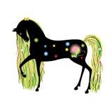 Cavallo-Sorgente royalty illustrazione gratis