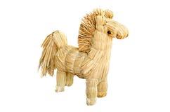 Cavallo Strawy Fotografia Stock