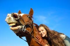 Cavalo com um sentido de humor Imagem de Stock