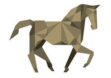 Cavalo cubista Foto de Stock Royalty Free