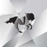Cavalo da abstração Fotos de Stock Royalty Free