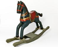 Cavalo de balanço imagem de stock