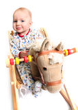 cavalo de balanço Fotos de Stock Royalty Free