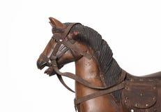 Cavalo de balanço de madeira Foto de Stock Royalty Free