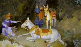 Cavalo de Chetak Foto de Stock