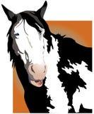 Cavalo de fala ilustração do vetor