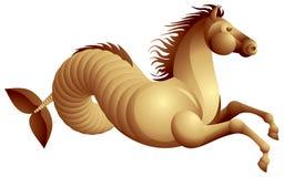 Cavalo de mar, hippocamp Ilustração Stock