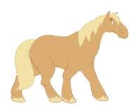Cavalo de passeio ilustração stock