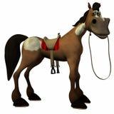 Cavalo de Toon Foto de Stock