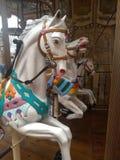Cavalo de um carrossel fotos de stock