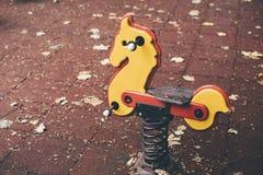 Cavalo do brinquedo fotografia de stock