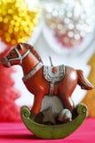 Cavalo do Natal imagem de stock royalty free