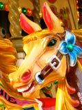 Cavalo do recinto de diversão Fotos de Stock Royalty Free