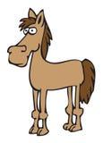Cavalo dos desenhos animados Fotos de Stock