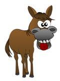 Cavalo dos desenhos animados fotografia de stock