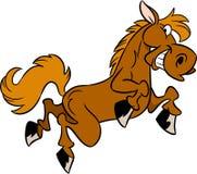 Cavalo dos desenhos animados ilustração stock