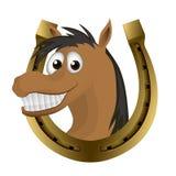 Cavalo engraçado Foto de Stock