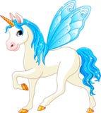 Cavalo feericamente do azul da cauda Imagem de Stock