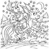 Cavalo humpbacked mágico Imagens de Stock Royalty Free