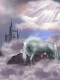 Cavalo mágico ilustração royalty free
