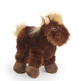 Cavalo macio do brinquedo Imagem de Stock Royalty Free