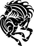 Cavalo no estilo tribal - ilustração do vetor. Imagens de Stock Royalty Free