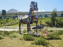 Cavalo pintado Imagem de Stock