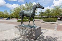 Cavalo preto, 1978 Elisabeth Frink Foto de Stock Royalty Free