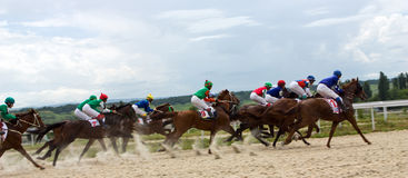 Cavalo Racing Fotografia de Stock Royalty Free