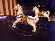 Cavalos de balanço Fotos de Stock Royalty Free