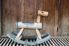 Cavalos de balanço Fotografia de Stock