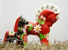 Cavalos de Hohloma Fotografia de Stock Royalty Free