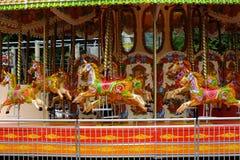 Cavalos do carrossel imagem de stock royalty free