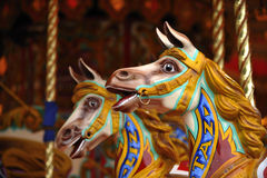 Cavalos do carrossel Imagem de Stock