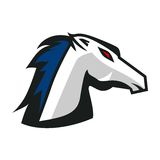Cavalos Logo Template Foto de Stock