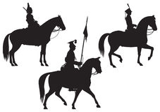 Cavalry Horse riders Stock Photos