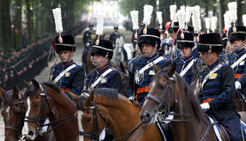 Cavalry police Royalty Free Stock Photos